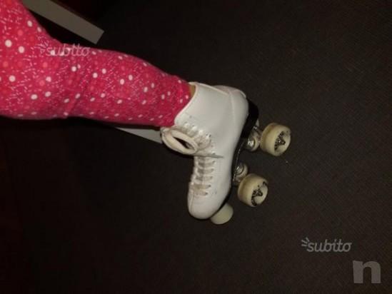 Pattini artistica pattinaggio bambina a rotelle 32 foto-13125