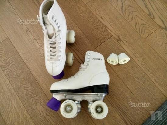 Pattini artistica pattinaggio bambina a rotelle 32 foto-13126
