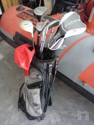 Mazze e sacca da golf foto-7303