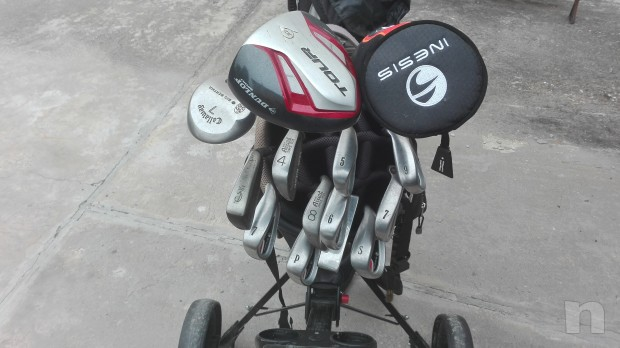 Set completo da golf + regalo foto-13142