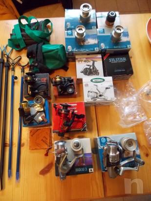 Vendo attrezzatura da pesca leggera e da fondo foto-13249