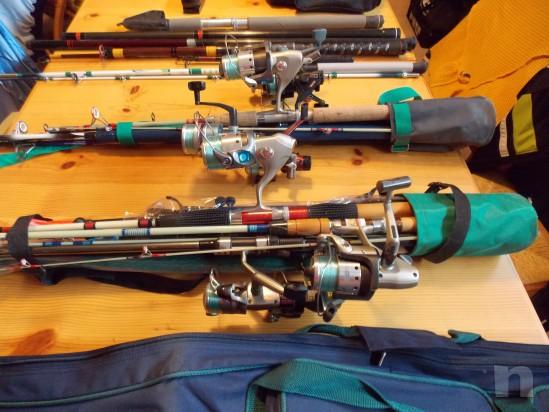 Vendo attrezzatura da pesca leggera e da fondo foto-13250