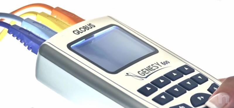 --VENDO--Elettrostimolatore 4 canali GENESY 600 GLOBUS + GEL OMAGGIO foto-13392