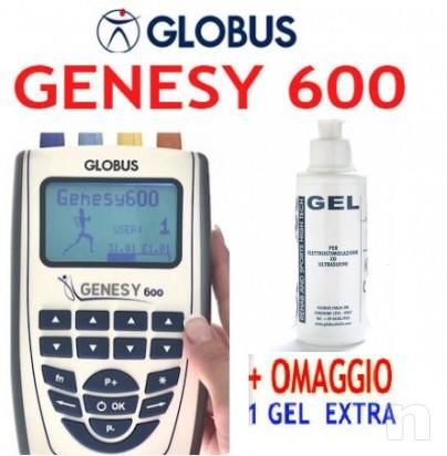 --VENDO--Elettrostimolatore 4 canali GENESY 600 GLOBUS + GEL OMAGGIO foto-7449