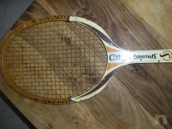 Racchetta Tennis Spalding Pancho Gonzales foto-957