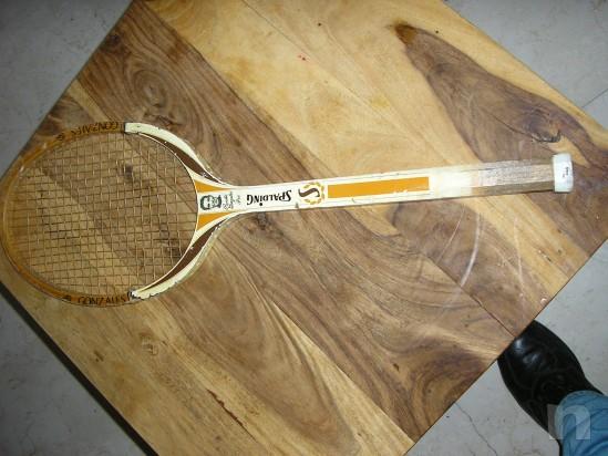 Racchetta Tennis Spalding Pancho Gonzales foto-751