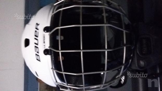 Casco da Hockey (ghiaccio o pista)  foto-13570