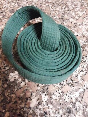 Cintura verde Karate foto-7586