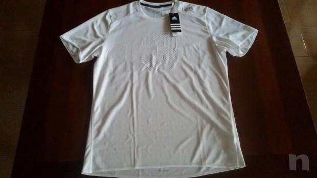T-shirt uomo ADIDAS Climalite Running NUOVA tg. M  foto-7617