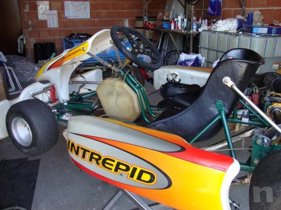 Go kart 100cc telaio Tony Kart motore PCR foto-13695