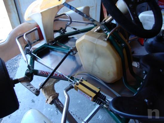 Go kart 100cc telaio Tony Kart motore PCR foto-13696