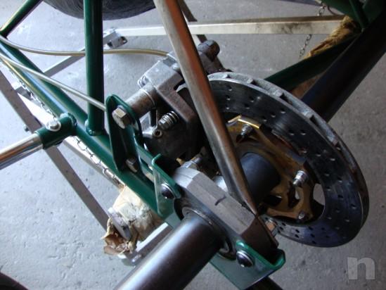Go kart 100cc telaio Tony Kart motore PCR foto-13698
