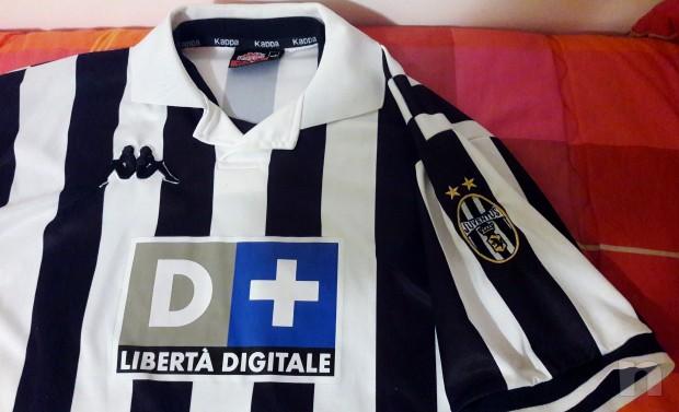 Maglia ufficiale Juventus 1998-1999 Originale foto-14015