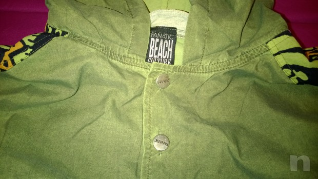 FANATIC Jacket Giubbino Antivento Impermeabile foto-14036