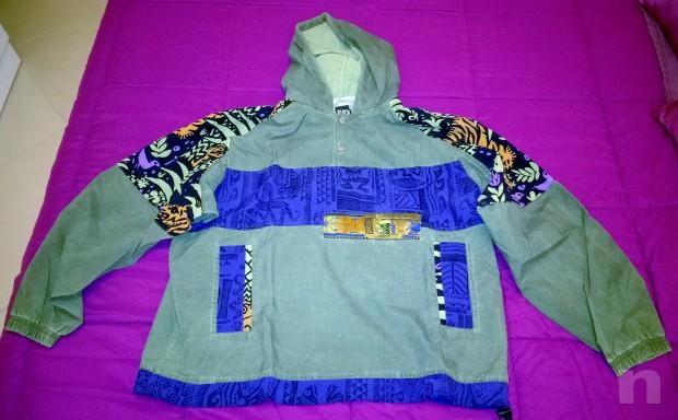 FANATIC Jacket Giubbino Antivento Impermeabile foto-14034
