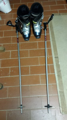 Sci Rossignol X-FIGHT 4TH e scarponi Salomon foto-14322