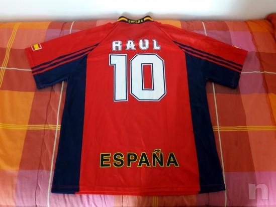 Maglia Spagna Raul Mondiali di Calcio Francia 98 foto-14543