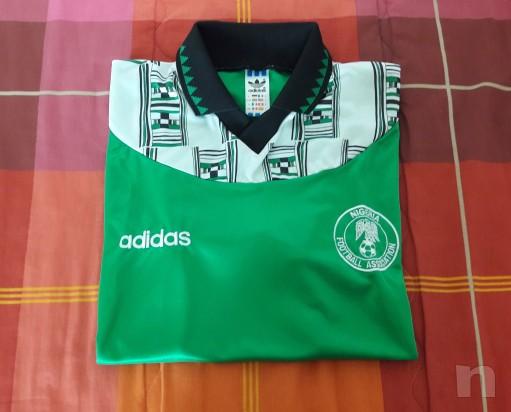 Maglia Nazionale Nigeria Mondiali di Calcio USA 94 foto-8051