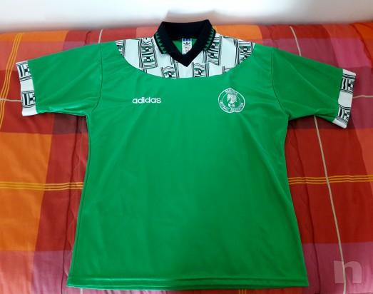 Maglia Nazionale Nigeria Mondiali di Calcio USA 94 foto-14546