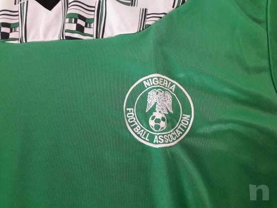Maglia Nazionale Nigeria Mondiali di Calcio USA 94 foto-14548