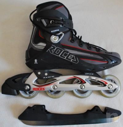 Pattini in linea ROCES Tempexta Blu - Roller e pattinaggio su ghiaccio 44 foto-1064
