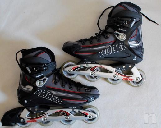 Pattini in linea ROCES Tempexta Blu - Roller e pattinaggio su ghiaccio 44 foto-1063