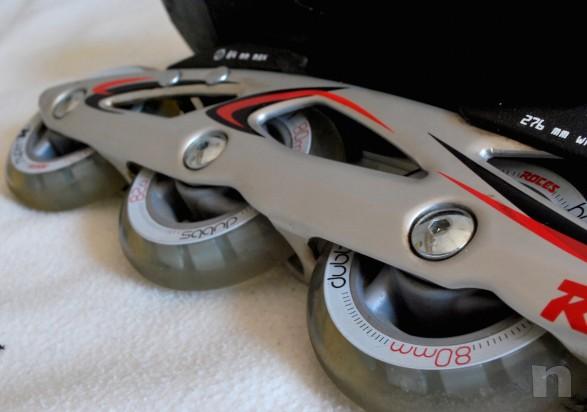 Pattini in linea ROCES Tempexta Blu - Roller e pattinaggio su ghiaccio 44 foto-1065