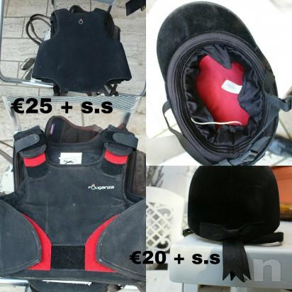 Vendo materiale equitazione foto-8091