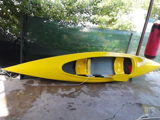 canoa in vetroresina 2 posti foto-810