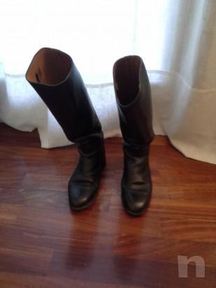 Vendo stivali in pelle da equitazione  foto-8121