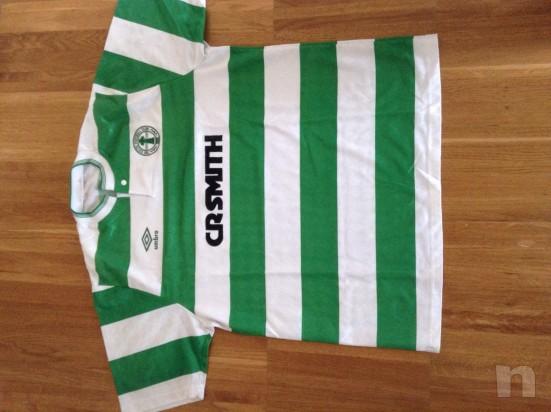 Maglia Celtic Glasgow 1988 - Originale del centenario foto-8132