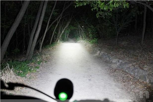 Lampada torcia da testa o bici impermeabile foto-15009