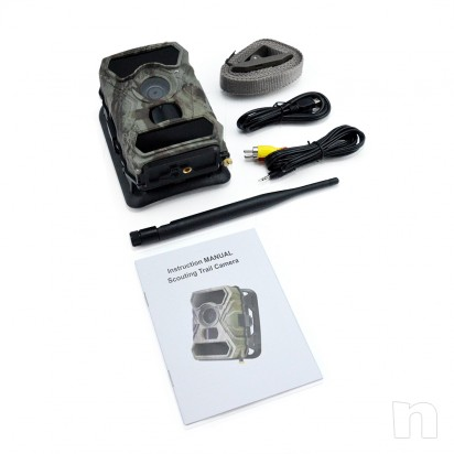 Fototrappola Mimetica Trail Camera 3G HD 1080p foto-15029