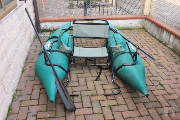 splendido gommone per pescatori CREEK COMPANY PONTOON BOAT MOD. ODC SPORT XL nuovo foto-8308