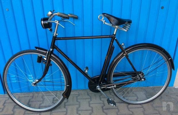 Bicicletta D Epoca Da Uomo Taurus Nera Ruote 28