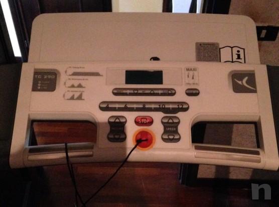 Tapis roulant elettrico domyos tc290 fitness in vendita a viterbo - Tappeto elettrico usato ...