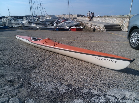 Canoa kayak mare vetroresina  foto-8518