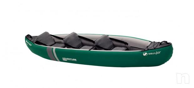 canoa gonfiabile SEVYLOR ADVENTURE seminuova foto-15481