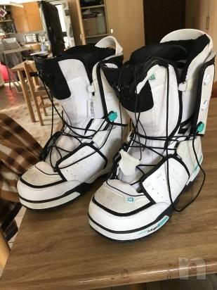 Scarponi salomon snowboard taglia 47 foto-8938