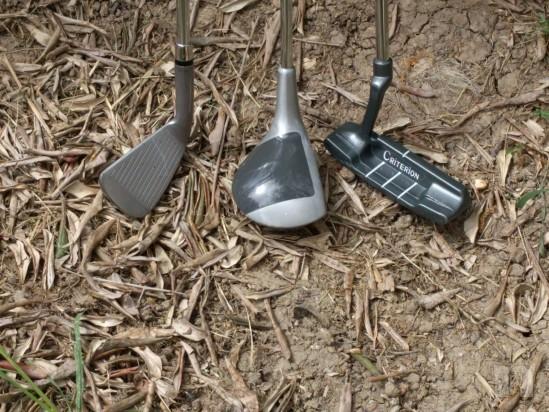 3 mazze da golf sacca e palline foto-9084