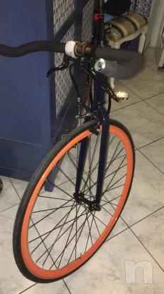 Bicicletta Fixed scatta fisso  foto-9203