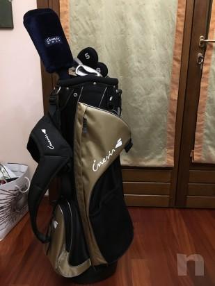 Sacca da golf inesis adulti con mazze quasi nuova foto-9258