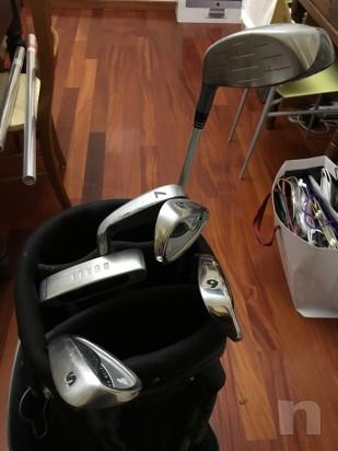 Sacca da golf inesis adulti con mazze quasi nuova foto-16893