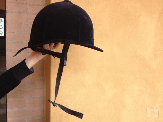 Stivali casco giubbotto di protezione da equitazione / cavallo foto-9259