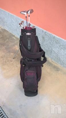 Sacca da golf lady completa di ferri con carrello foto-17131