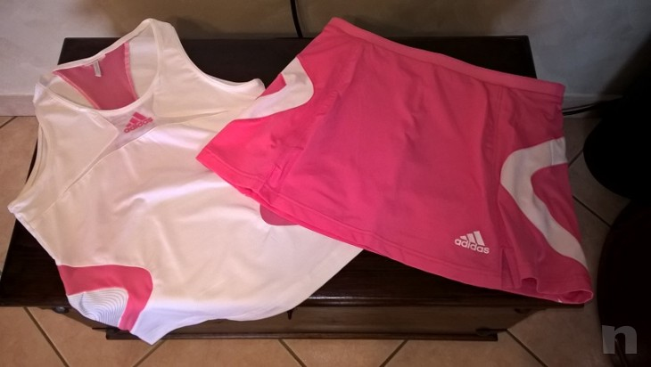 Completo tennis gonna/canotta donna Adidas Tg. 44 foto-9395