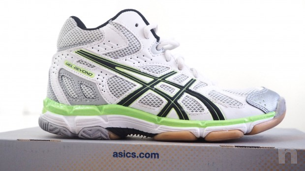 ASICS :: scarpe volley kids foto-9399