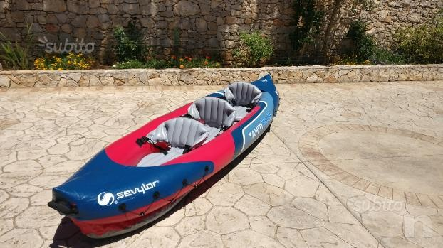 Kayak Sevylor Tahiti Plus + 2 pagaie foto-9546