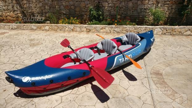 Kayak Sevylor Tahiti Plus + 2 pagaie foto-17399