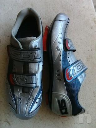 Scarpe bici corsa n41 con tacchette look foto-9599